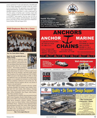 Maritime Reporter Magazine, page 53,  Feb 2011