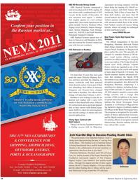 Maritime Reporter Magazine, page 54,  Feb 2011