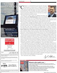 Maritime Reporter Magazine, page 6,  Feb 2011