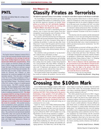 Maritime Reporter Magazine, page 12,  Apr 2011