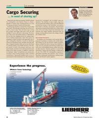 Maritime Reporter Magazine, page 22,  Apr 2011