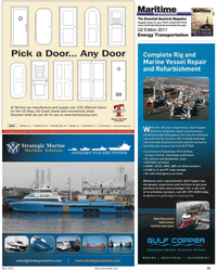 Maritime Reporter Magazine, page 25,  Apr 2011
