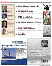 Maritime Reporter Magazine, page 2,  Apr 2011