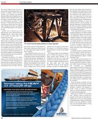 Maritime Reporter Magazine, page 4th Cover,  Apr 2011