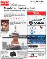 Maritime Reporter Magazine, page 12,  May 2011