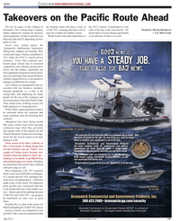Maritime Reporter Magazine, page 13,  May 2011