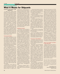 Maritime Reporter Magazine, page 24,  May 2011