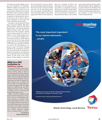 Maritime Reporter Magazine, page 29,  May 2011