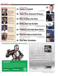 Maritime Reporter Magazine, page 2,  May 2011
