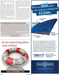 Maritime Reporter Magazine, page 39,  May 2011