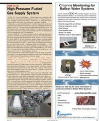 Maritime Reporter Magazine, page 21,  Jul 2011