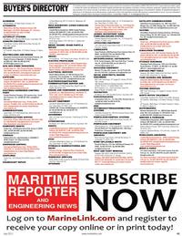 Maritime Reporter Magazine, page 41,  Jul 2011