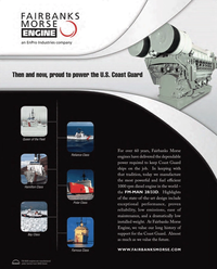 Maritime Reporter Magazine, page 3rd Cover,  Jul 2011
