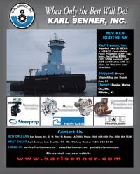 Maritime Reporter Magazine, page 4th Cover,  Jul 2011