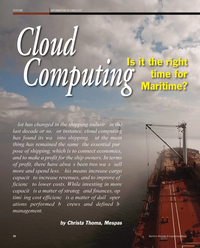 Maritime Reporter Magazine, page 26,  Sep 2011