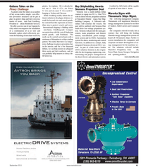 Maritime Reporter Magazine, page 41,  Sep 2011