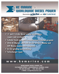 Maritime Reporter Magazine, page 3rd Cover,  Sep 2011
