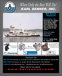 Maritime Reporter Magazine, page 4th Cover,  Sep 2011