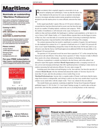 Maritime Reporter Magazine, page 6,  Sep 2011