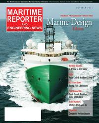 Maritime Reporter Magazine Cover Oct 2011 - Marine Design Annual