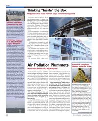 Maritime Reporter Magazine, page 14,  Oct 2011