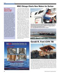 Maritime Reporter Magazine, page 16,  Oct 2011