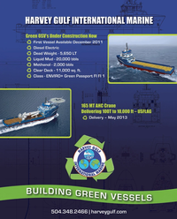 Maritime Reporter Magazine, page 2nd Cover,  Oct 2011