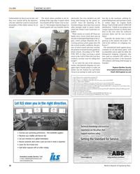 Maritime Reporter Magazine, page 20,  Oct 2011