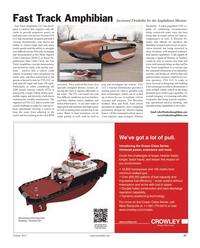 Maritime Reporter Magazine, page 27,  Oct 2011
