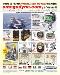 Maritime Reporter Magazine, page 1,  Oct 2011