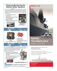 Maritime Reporter Magazine, page 33,  Oct 2011