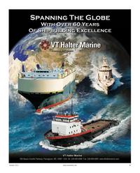 Maritime Reporter Magazine, page 3,  Oct 2011