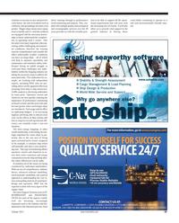 Maritime Reporter Magazine, page 49,  Oct 2011