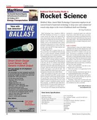Maritime Reporter Magazine, page 50,  Oct 2011