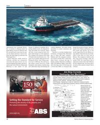 Maritime Reporter Magazine, page 12,  Feb 2012