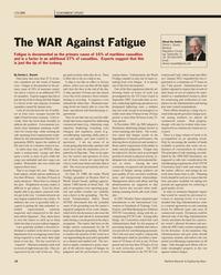 Maritime Reporter Magazine, page 16,  Feb 2012