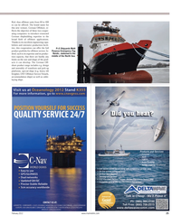Maritime Reporter Magazine, page 25,  Feb 2012