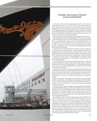 Maritime Reporter Magazine, page 27,  Feb 2012