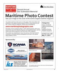 Maritime Reporter Magazine, page 37,  Feb 2012
