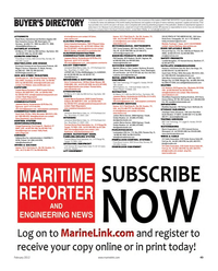 Maritime Reporter Magazine, page 49,  Feb 2012
