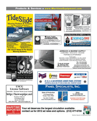 Maritime Reporter Magazine, page 54,  Feb 2012