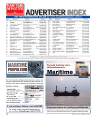 Maritime Reporter Magazine, page 56,  Feb 2012