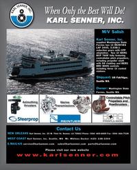 Maritime Reporter Magazine, page 4th Cover,  Feb 2012