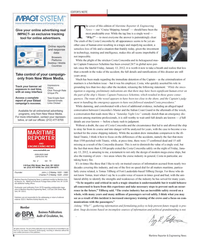 Maritime Reporter Magazine, page 6,  Feb 2012