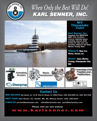 Maritime Reporter Magazine, page 4th Cover,  Mar 2012