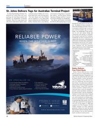 Maritime Reporter Magazine, page 12,  Mar 2012