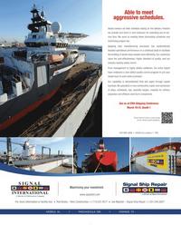 Maritime Reporter Magazine, page 1,  Mar 2012