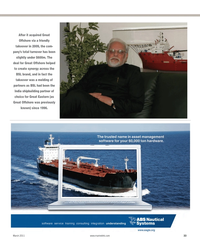 Maritime Reporter Magazine, page 33,  Mar 2012
