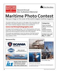 Maritime Reporter Magazine, page 84,  Mar 2012