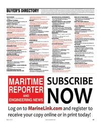 Maritime Reporter Magazine, page 89,  Mar 2012